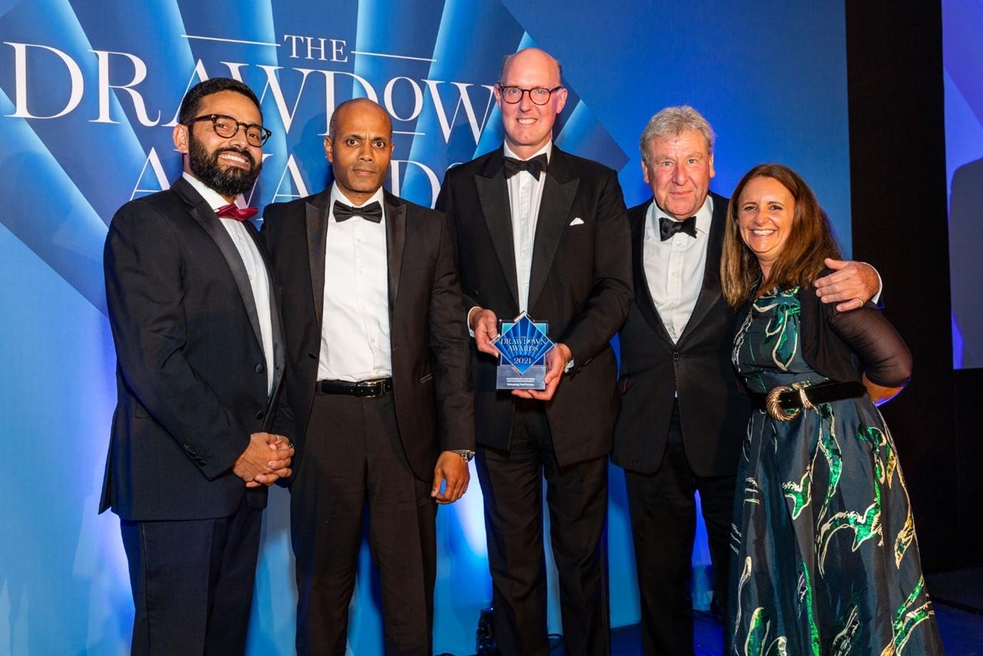 Drawdown Awars Winner 2021 mainspring Fund Services